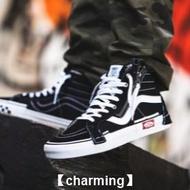 【charming】全新  Vans  SK8-Hi Reissue  CAP  黑色