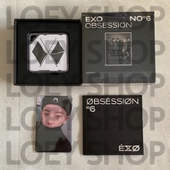 EXO OBSESSION Kihno Kit Album with CHANYEOL Photocard
