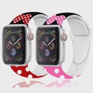 พิมพ์ซิลิโคนสำหรับ Apple Watch Band 44 Mm 40 Mm Iwatch Band 38มม.42มม.Apple Watch Series 5 4 6 SE 3 40มม.44มม.