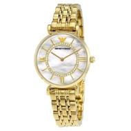 Emporio Armani Women's AR1907 Retro Gold Watch