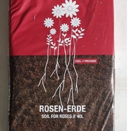 #Germany made # PLANTAFLOR SOIL FOR ROSES. 40 litres . Ready-to-use soil for roses.potting media. potting soil. garden roses soil. contain all nutrition for growing roses.
