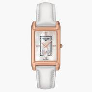TISSOT天梭 T9233357611600 / 18K玫瑰金真鑽石英錶