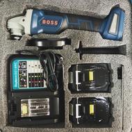 BOSS JBM18B 18V 鋰電砂輪機 充電式砂輪機 / 電池與牧田通用