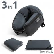 【義大利BANALE】OMNI 三用時尚旅枕-鐵灰
