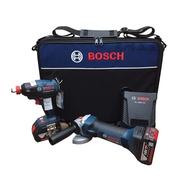 景鴻五金公司貨德國 BOSCH 18V 雙機組 GDX18V-EC 無刷衝擊起子機+GWS 18V-LI 砂輪機 含稅價