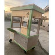 文青風攤車 (攤車不包含冷藏 壓縮機價錢)