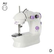 จักรเย็บผ้าไฟฟ้าชุดจักรเย็บผ้าตัดเสื้อไฟฟ้าในครัวเรือนขนาดเล็กมินิแบบพกพาจักรเย็บผ้าเครื่องมือ