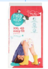 tesco fred and fro pampers diapers pants