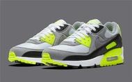รองเท้าผ้าใบ รองเท้าวิ่ง Nike Air Max 90 36-47 Gray green รองเท้าผ้าใบชาย 5 วันส่งของ