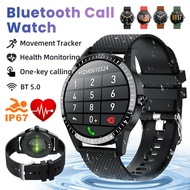 Bluetooth 5.0 Smart Watch Bluetooth Call Full Touch Heart Rate Blood Pressure Monitor Smart Bracelet With Fitness Tracker Sport Wristband