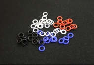 MX Rubber O-Rings Switch Dampeners DBlack Clear Red Blue Cherry MX Keyboard Dampers Keycap O Ring