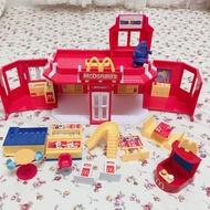 2003年 絕版 美國 麥當勞玩具 McDonald's 懷舊 房子 家家酒 奶昔大哥