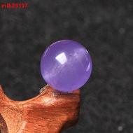 薰衣草紫玉髓散珠子圓珠半成品DIY水晶串珠手工編織配件項鏈材料