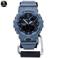 CASIO卡西歐G-SHOCK計步手錶男女潮GBA-800UC-2A 1/7/9霧霾藍 oKvx