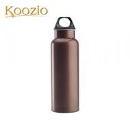 Koozio經典水瓶 600ml-咖啡金