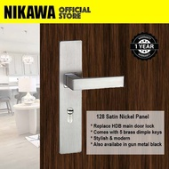 NIKAWA 128 Panel Lock (Able to Replace HDB BTO Main Door Lock)