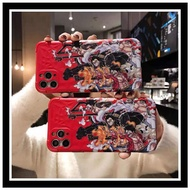 [READY STOCK] IPhone 12 Pro Max / 11 Pro Max / X Xs Max Xr SE 2020 / 8 7 Plus One Piece Luffy Gear 4 Anime Case Cover