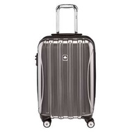 "Delsey Luggage Helium Aero Carry On Cabin Size 21"" 21 inch Suitcase Luggage Hard Case Spinner Suitcase Wheel Wheeled Suitcase Titanium Silver Colour"