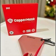 copper mask scarlet red and pink