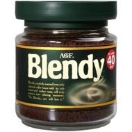 【AGF】Blendy綠罐即溶黑咖啡(80g/罐)