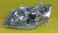 ☆小傑車燈家族☆全新高品質camry 06 07 08 camry 6代 轉向式魚眼 原廠型hid版晶鑽大燈單顆價