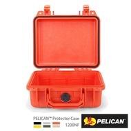 PELICAN 1200NF 氣密箱-空箱 橘 公司貨