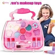 CuteBabyเจ้าหญิงของเล่นสาวแต่งหน้าชุดเครื่องมือกระเป๋าเดินทางเครื่องสำอางแกล้งเล่นชุดเด็กของขวัญ