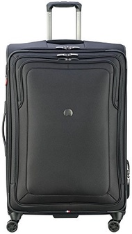 DELSEY Paris Delsey Luggage Cruise Lite Softside 29 Exp. Spinner Suiter Trolley, Black