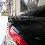 TWL台灣碳纖 Benz賓士 W211 03 04 05 06 07 08 09年 AMG款 亮黑 鴨尾尾翼 附3M膠條