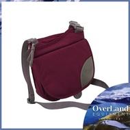 【OVERLAND 美國 Isabella 側背包《紫紅/花》】OL142NBD1807/斜背包/旅行