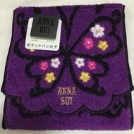日本帶回ANNA SUI刺繡多功能置物毛巾手帕