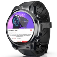 LOKMAT X360 4G 3+32G Dual HD Camera Watch Phone 1.6'' MOTO Touch Screen Optical Heart Rate Monitor Barometer Time Sync Sports Fitness Smart Watch