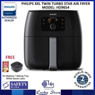 PHILIPS XXL TWIN TURBOSTAR AIR FRYER HD9654