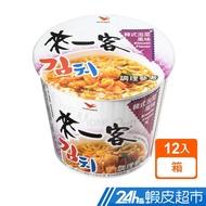 來一客 韓式泡菜風味杯(67g*12入/箱) 即食杯麵 蝦皮24h 現貨