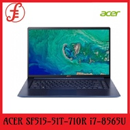 ACER SF515-51T-710R NOTEBOOK i7-8565U 8GB 512GB PCIe SSD |SWIFT 7 SF714-51T-M70L