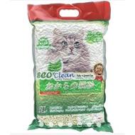 (6包宅配免運)Eco Clean 艾可環保豆腐貓砂系列7L(原味/綠茶) 寵物貓砂 豆腐貓砂 豆腐砂 環保貓砂