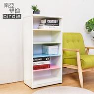 【南亞塑鋼】1.6尺開放式五格收納櫃/置物櫃/鞋櫃(彩色板)