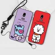 New products Samsung S9PLUS BT21 Mobile phone case ON72016 Full package NOTE8 Anti-falling shell J7PLUS Black soft shell