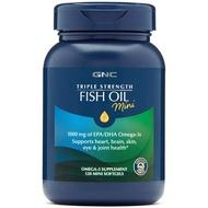🔆代購美國 GNC 三重強度魚油迷你軟膠囊 (120顆)🔆