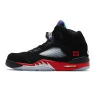 Nike Air Jordan 5 Retro Top 3 黑 紅 紫 喬丹 5代 男鞋【ACS】 CZ1786-001