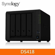 Synology DS418 4Bay 網路儲存伺服器