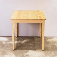 【CiS 自然行】74x74CM原木桌 扁柏自然色(工作桌 餐桌 鄉村風 手工家具 實木家具  原木傢俱)