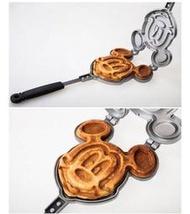 [廠商直銷] 米奇鼠 鬆餅模具 米老鼠 鬆餅模 鬆餅烤盤 瓦斯或木炭明火使用
