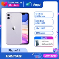 [I ANGEL]  Uesd Original Apple iPhone 11 64/128/256GB   Dual 12MP Camera A13 Chip 6.1 IPHONE11 64/128/256G smartphone 95%New