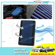 Nissan Cefiro A31 A32 A33 Redline Performance Washable High Flow Air Filter