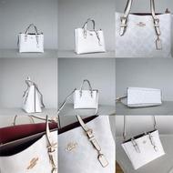 ۩❈Coach C4250 C4086 C4085 C4084 Mollie Tote 25 in Signature Canvas Women Handbag Shoulder Crossbody Sling Bag