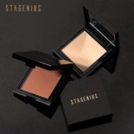STAGENIUS礦物粉餅粉餅遮瑕粉餅粉餅控油面部化妝調整粉餅