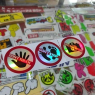 Noctilucent Reflective Reflective Stickers Noctilucent Photos Warning Stickers