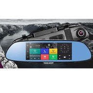"QCY A99 DashCam 7"" inches Touch Screen DVR Super Large Screen HD 1296P"