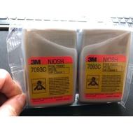 現貨 3M-防毒面具-過濾濾心-P100-防止飛沫病毒一對 7093C 活性碳 高級版本